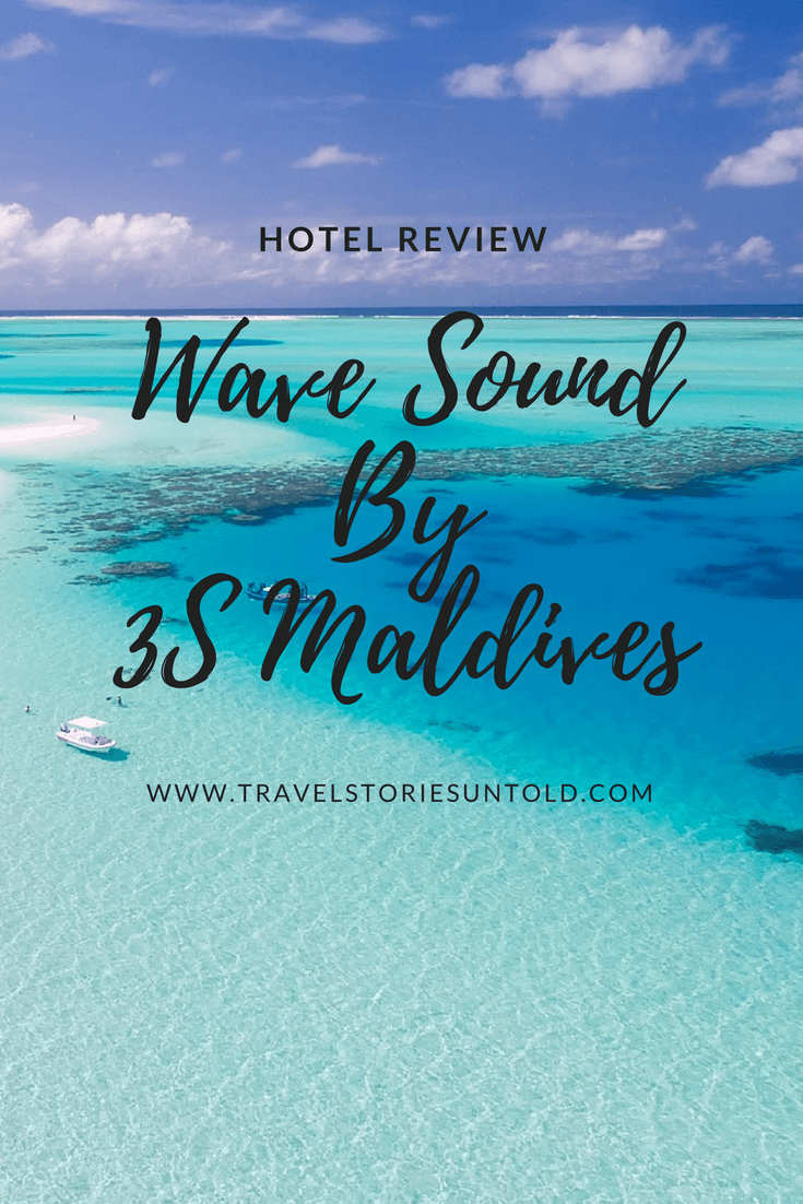 hotel review wave sound by 3s maldives