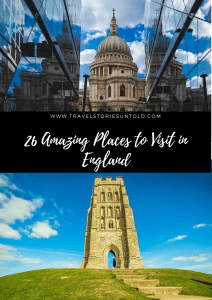 Planning a trip to England? Check out these 26 best places to visit and add them to your ultimate England travel bucket list! #England #UK #Britain #travel #bestplacestogo #travelblog