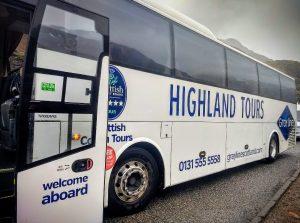 Coach trips to Scotland with Grayline Scotland