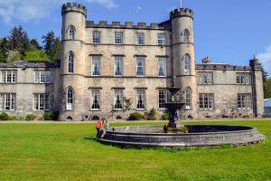 Stay in a castle in Scotland | Melville Castle Hotel